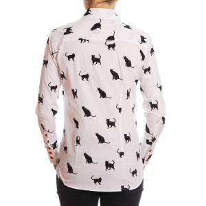 femmes-chemise chats