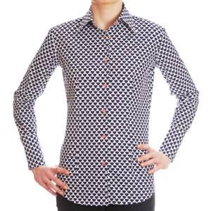 femmes-chemise coeurs bleus