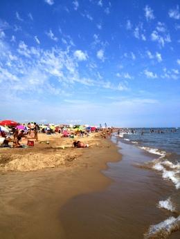 la plage Narbonne